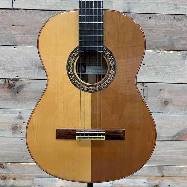 Manuel Rodriguez D1 Cafe Con Leche Classical Guitar Spruce and Cedar Top (Ex Demo)